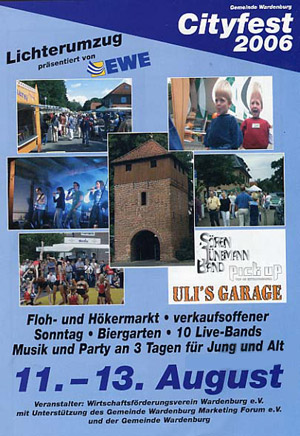 Cityfest 2006 in Wardenburg
